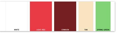 pomegranate color pomegranate color scheme