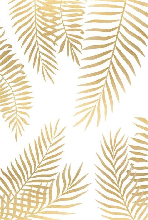 gold palm leaves art print pattern pinterest palm