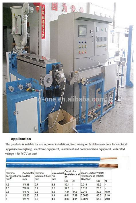 electrical wire coating pvc wire coating machine electric cable production line