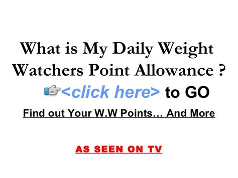 how to calculate your weight watchers points how to calculate your weight watchers points