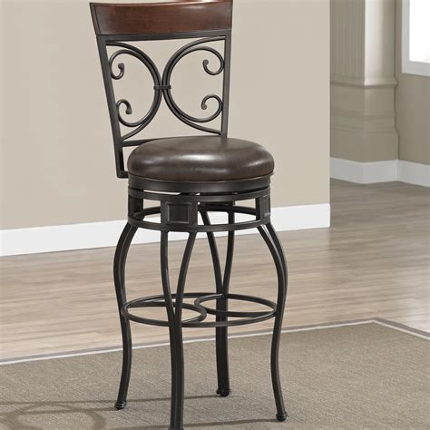 darby home  matherville  swivel bar stool reviews