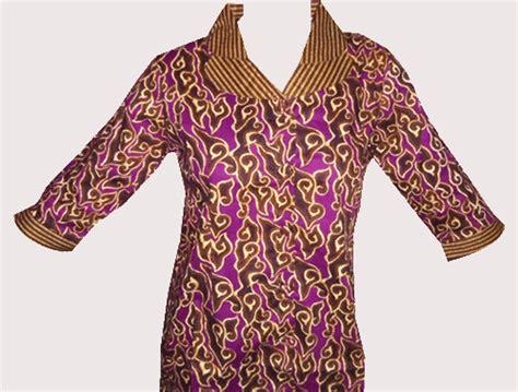 Kemeja Batik 008 by Grosir Toko Pakaian Kemeja Batik Wanita 008 Rp 50 000