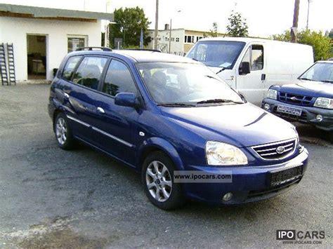 Kia Carens Fuel Consumption 2006 Kia Carens Crdi 3 Car Photo And Specs