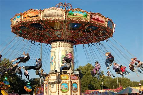 swings amusement park ride beautiful and thrill theme park swings swing rides