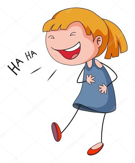 imagenes animadas riendose chica riendo archivo im 225 genes vectoriales