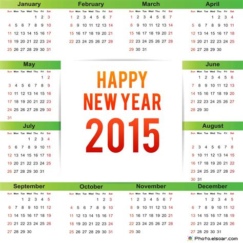 new year 2015 government schedule new year 2015 calendars clip elsoar