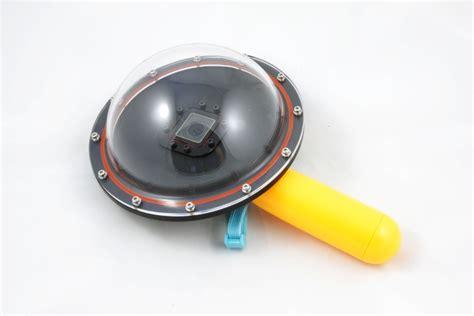 Dome Sjcam akcesoria do kamer gopro i sjcam obudowa podwodna dome port do gopro 3 3 4 systembank
