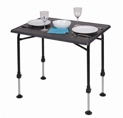 folding table with adjustable legs ka hi lo pro medium premium folding cing table with