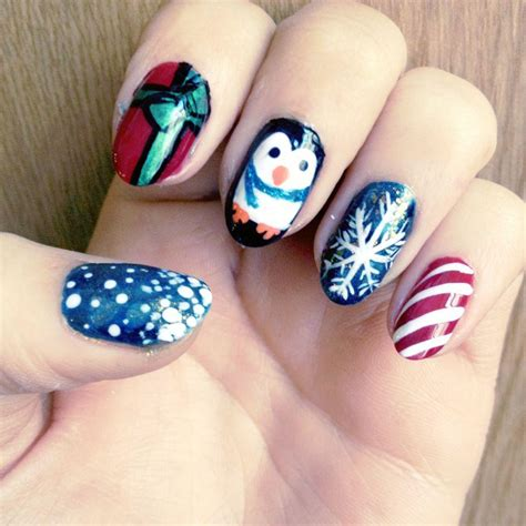design nail art for christmas easy christmas nail art designs ideas 2014 step by step