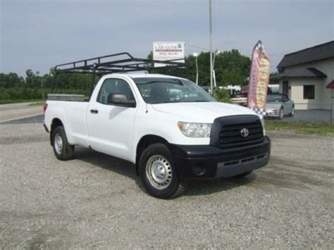 Toyota Tundra Ladder Rack Sell Used 2007 Toyota Tundra With Ladder Racks Tool Boxes