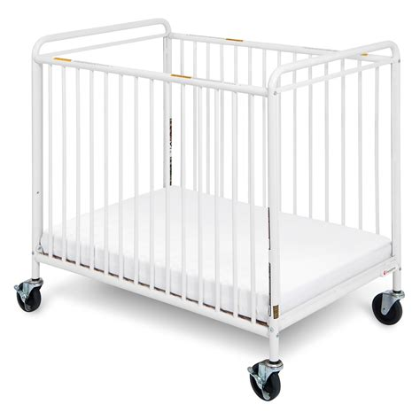 Foundations Mini Crib Foundations Chelsea Clear Choice Mini Crib With Casters Cribs At Hayneedle