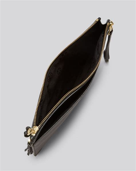 Plisse Wristlet by Burch Pouch Thea Zip Wristlet In Black Lyst