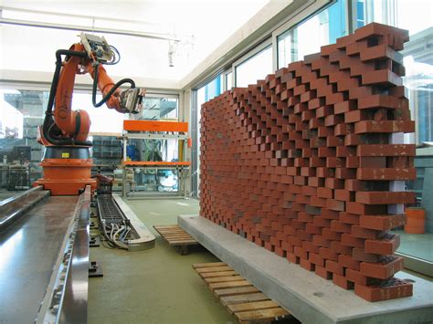 robotic wall system quot robotization quot of bim how robots could improve bim