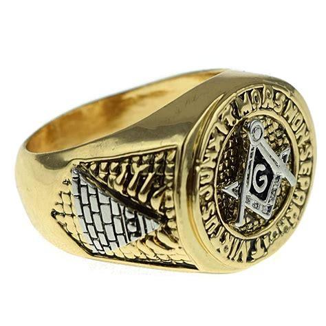 masonic master ring gold rings