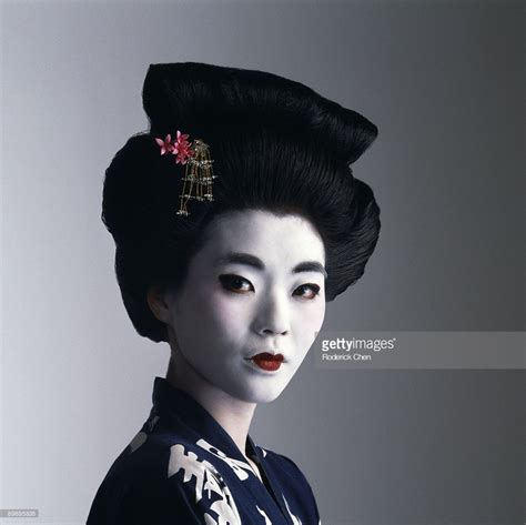 Geisha Photos portrait of geisha stock photo getty images
