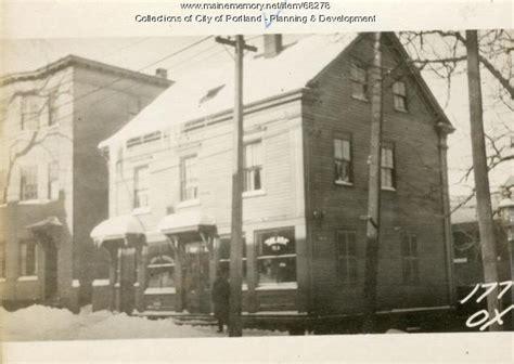 Oxford Houses Portland Oregon by Maine Memory Network 177 Oxford Portland 1924