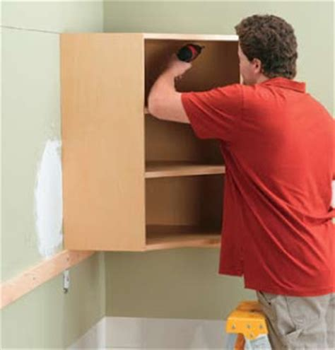 how to install wall cabinets kitchen and bathroom renovation how to install wall