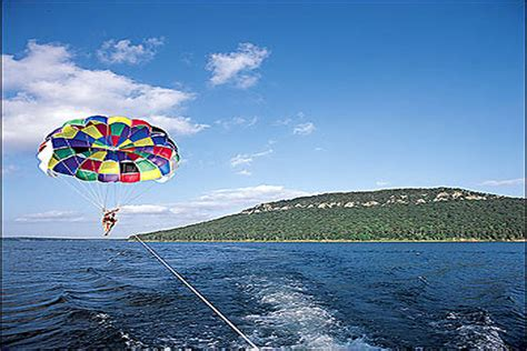 fishing boat rentals on greers ferry lake parasailing on greers ferry lake