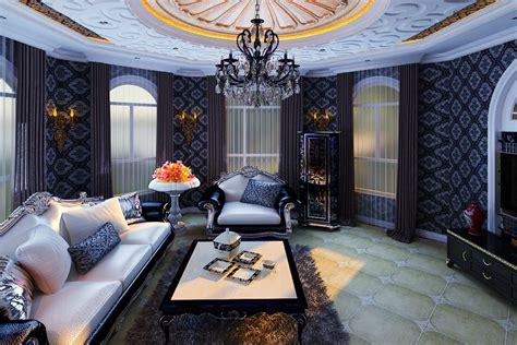 Lounge Living Room Posh Posh Living Room 3d Model Max Cgtrader