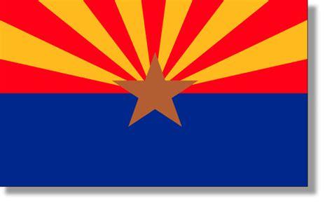 arizona state colors state flag descriptions