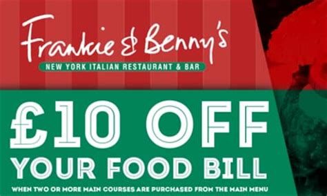 printable vouchers frankie and bennys 163 10 off frankie benny s meal voucher