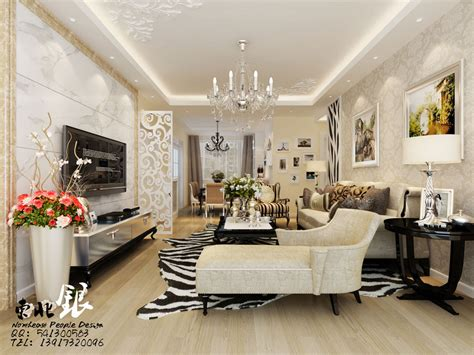 elegant style living Interior Design Ideas.