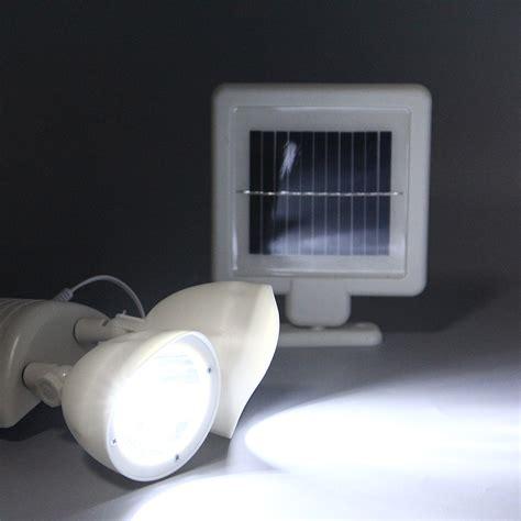 dual bright led security light dual security detector solar spot light motion sensor