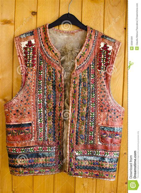 Handmade Vest - traditional vest stock image image 33361091