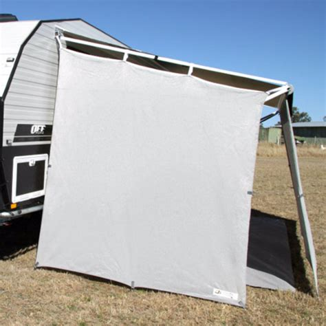 shade walls for caravan awnings caravan bug awning privacy shade screen walls and end drop