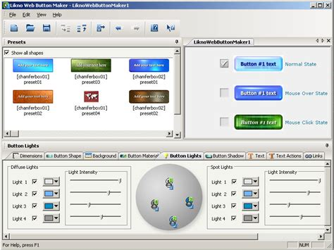 web software likno web button maker free freeware de