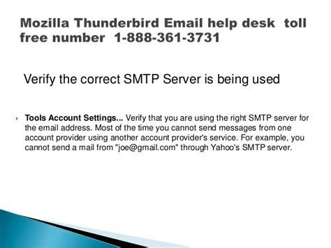yahoo help desk phone number mozilla thunderbird email help desk toll free phone number