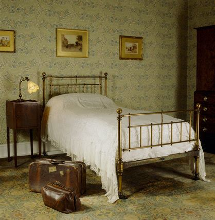 old bedroom the larkspur bedroom at standen with a bed from heals an