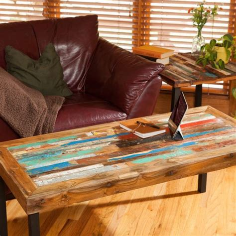reclaimed wood living room tables buy a made reclaimed wood coffee table teak on living