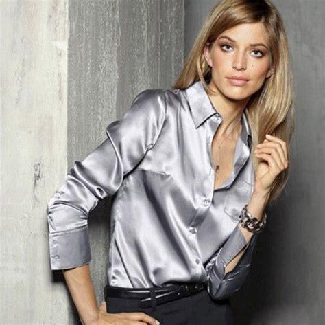 Silk Sleeve Shirt silk shirt womens custom shirt