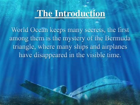 the mystery of the the mystery of the bermuda triangle