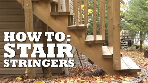 build stair stringers youtube