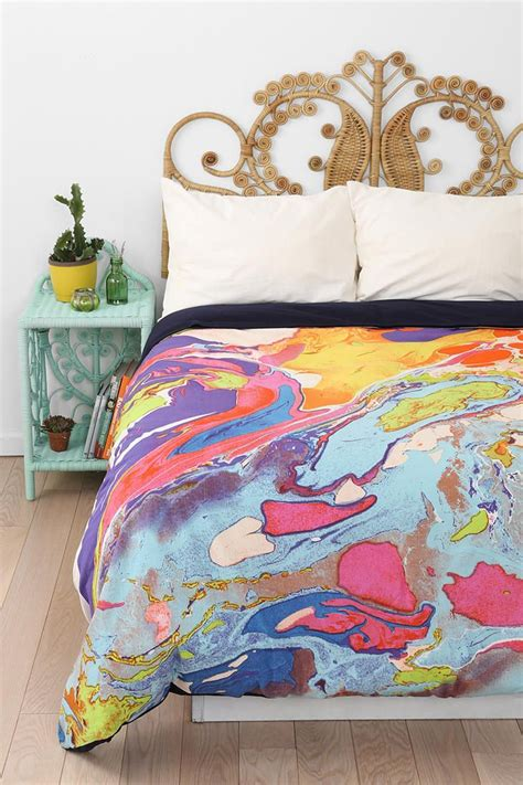 magical thinking bedding magical thinking marble duvet cover urbanoutfitters