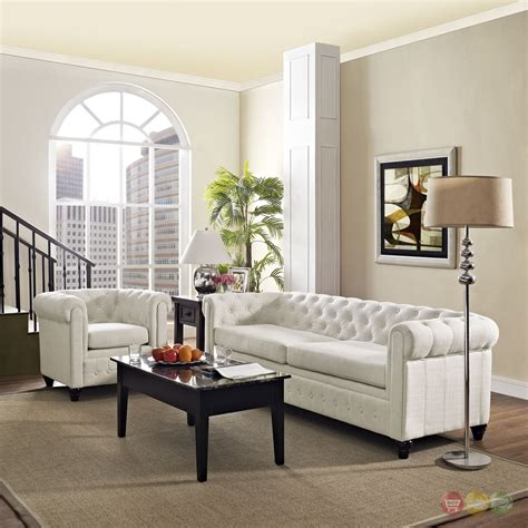 2 pc living room set earl contemporary 2pc fabric upholstered living room set