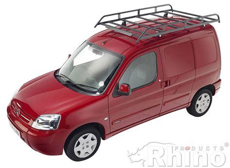 Roof Racks Peugeot Partner by Peugeot Partner Origin Rhino Roof Rack Rear Door