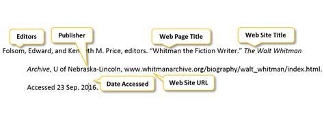 Cite Website Mla In Essay by Mla Citation Website In Text