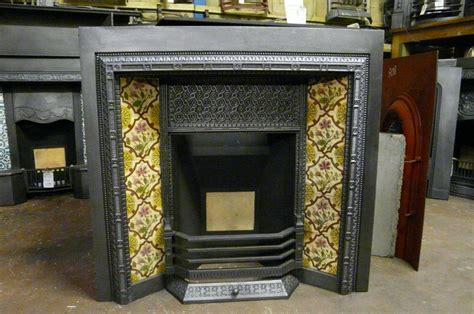 victorian tiled fireplace insert ti  fireplaces