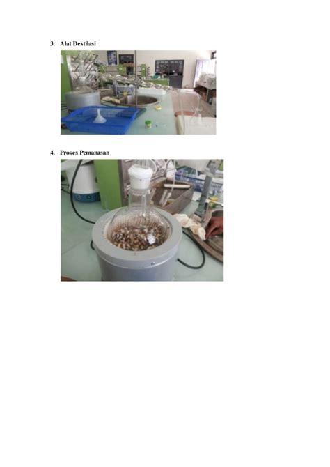 Minyak Atsiri Kamboja praktikum destilasi uap bunga kamboja