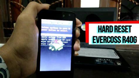 Evercoss R40g reset evercoss r40g hp lemot terkena virus iklan