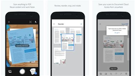 scan app android adobe scan app with text recognition launched for android and ios technology news