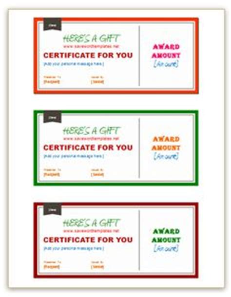 pages templates for gift certificate 1000 images about gift certificate template on pinterest