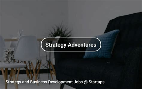 Temporary Cfa And Mba by Strategy And Business Development Startups