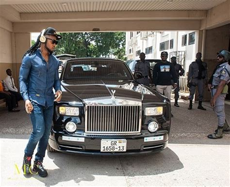 roll royce nigeria in pictures flavour nabania promoting new dance video in