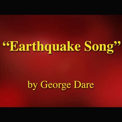 earthquake song earthquake song download with lyrics songs for teaching