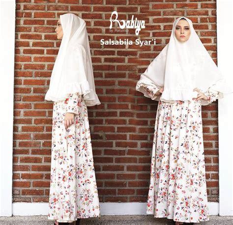Gamis Salsabila salsabila b white baju muslim gamis modern