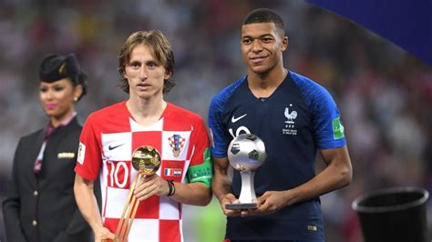kylian mbappe golden ball top five facts about footballers mbappe and modric
